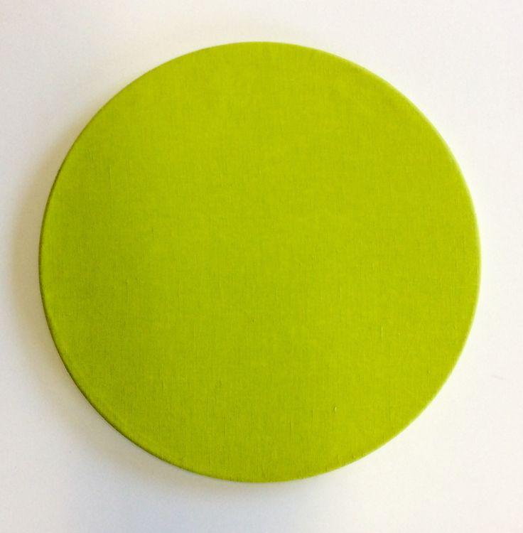 Sottopiatto in lino colore verde lime.