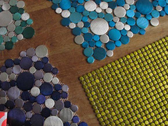 Guarda Aluminio Baño:Mosaico Para Banos