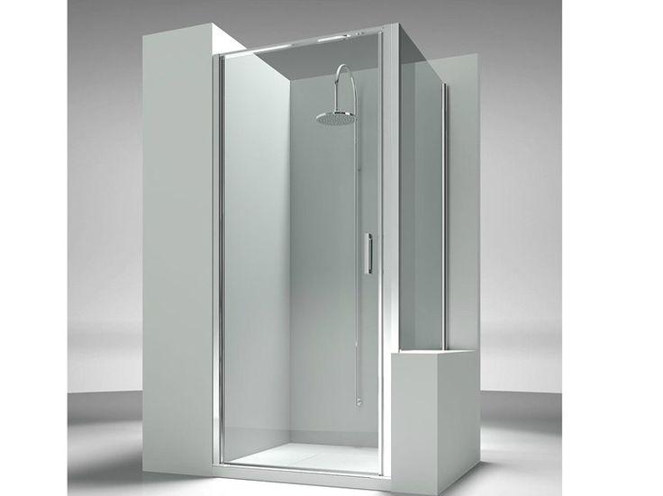 Paroi de douche sur mesure en verre trempé LINEA LN LP Collection L i n e a by VISMARAVETRO | design Centro Progetti Vismara