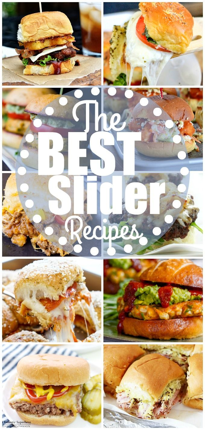 Over the past year or so, I have become obsessed with sliders! They are itty bitty, super cute, and people are coming up with the most delicious ways to fill them. You can literally put anything in…