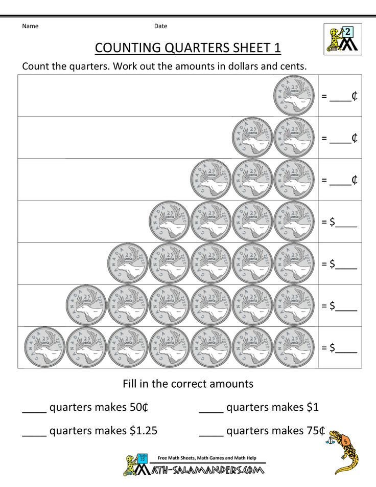 2nd-grade-money-worksheets-counting-quarters-1.gif (1000 ...