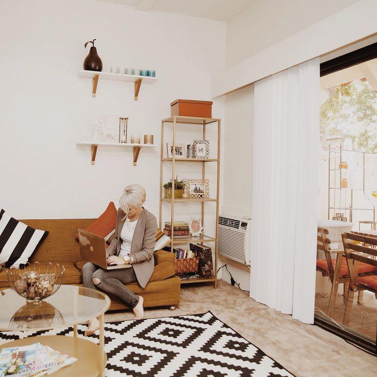 mid century modern apartment perfect home pinterest