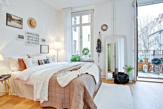 Bilder, Sovrum, Vitt, Säng - Hemnet Inspiration
