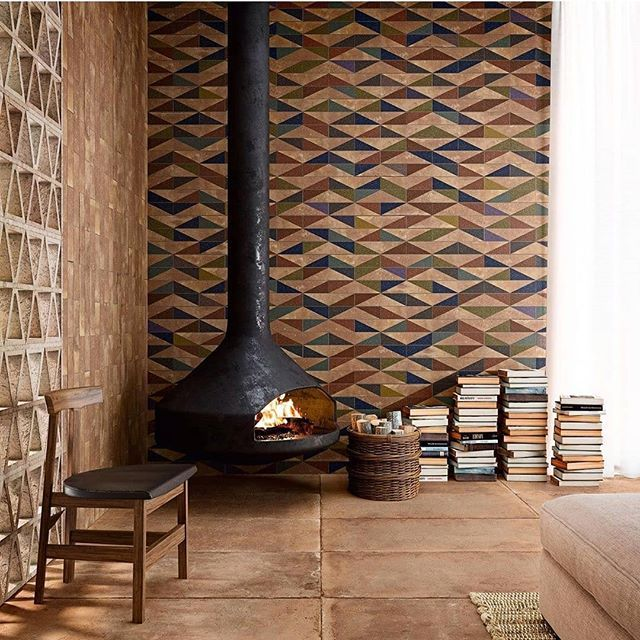 Porcelain Cotto Look From Specceramics Gcthomas Specceramics Aparici Tiles Ilovetil In 2020 Fireplace Design Industrial Home Design Interior Design Inspiration