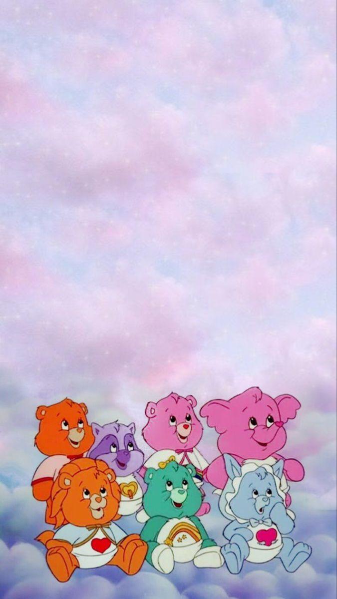 Care Bears I Phone Wallpaper Cartoon Wallpaper Iphone Iphone Wallpaper Iphone Wallpaper Sky