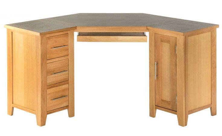 Oak Corner Computer Desks for Home - Ideas for Decorating A Desk Check more at http://www.gameintown.com/oak-corner-computer-desks-for-home/