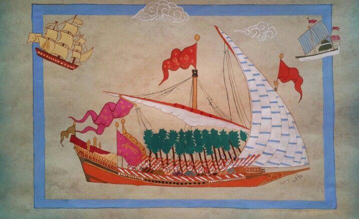 Gemiler, ships, Ottoman