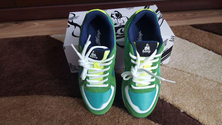 Tak pięknie prezentują się moje nowe buty.Przesyłka od Hooy #Hooy #testowanie #blogujemytestujemy