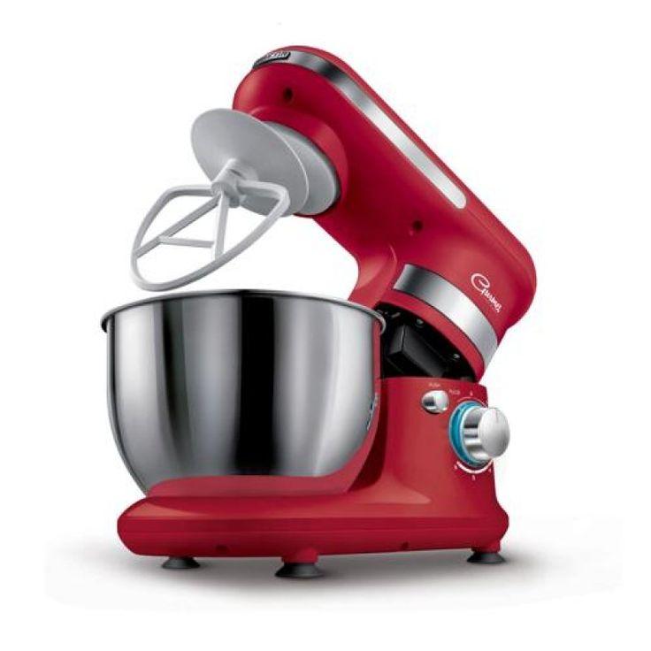 Ideális nagyobb tészták, krémek, tejszínhab, hab, stb, készítésére 4 literes nemesacél tál Kapacitás: max. 1, 6 kg tészta készítéséhez Max. 8 tojásfehérje felverése 3 cserélhetõ fej • dagasztókar (élesztõs nehéz ...