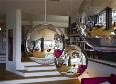 Tom Dixon Mirror Ball #mirrorball #tomdixon http://www.tomdixon.net/products/uk/mirror-ball-50cm