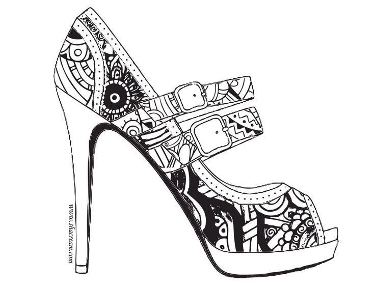 324 best Одежда, обувь images on Pinterest | Coloring books ...