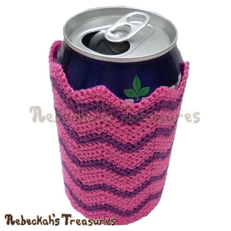 135 Best Crochet Cozy Coozy Images On Pinterest Crochet Cozy