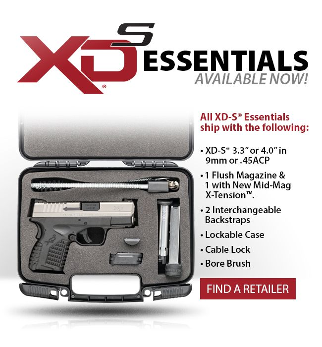 Springfield Armory is now offering their XD-S single-stack subcompact concealed-carry pistols in 9mm and .45 ACP at a lower price with less cruft.