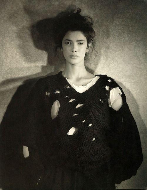 The holey sweater. Image via Pinterest.