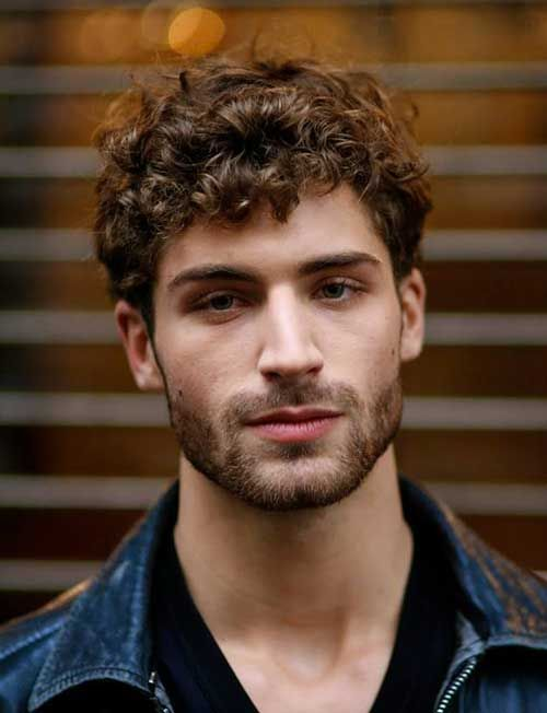 Tremendous 1000 Ideas About Men Curly Hair On Pinterest Long Curly Hair Short Hairstyles Gunalazisus