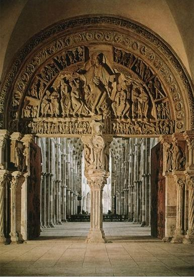 Sainte-Madeleine, Vezelay, Burgundy, France, c. 1120-32