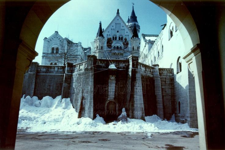 The Emperor's Castle on Voton. Snow bound.