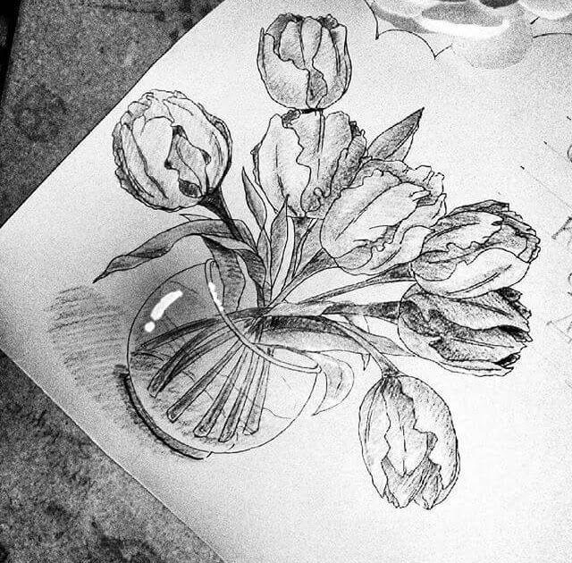 25 Gambar Bunga Indah Yang Mudah Digambar 39 Gambar Sketsa Bunga Indah Sakura Mawar Melati Download Kumpulan Gambar Bati Di 2020 Sketsa Lukisan Bunga Sketsa Wajah