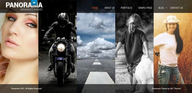 Free portfolio WordPress Theme for Portfolio Websites