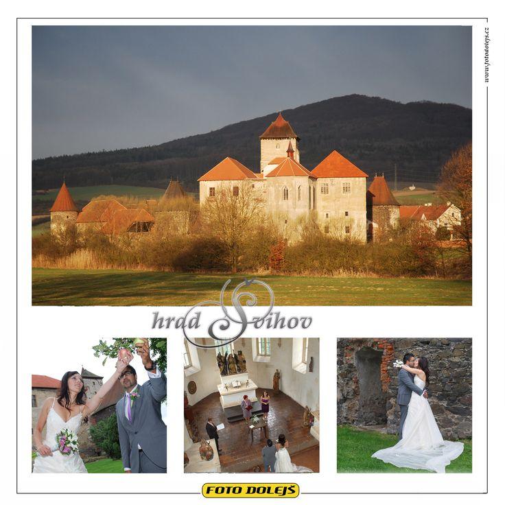 Švihov, kaple. Fotografovat skupinky lze v zahradě u hradu.