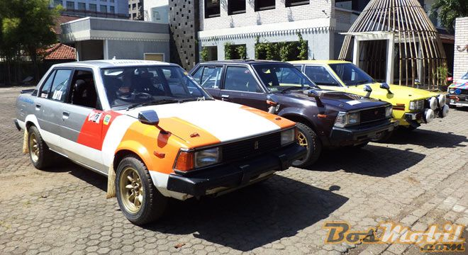3 Rally Car Berbasis Toyota Corolla DX
