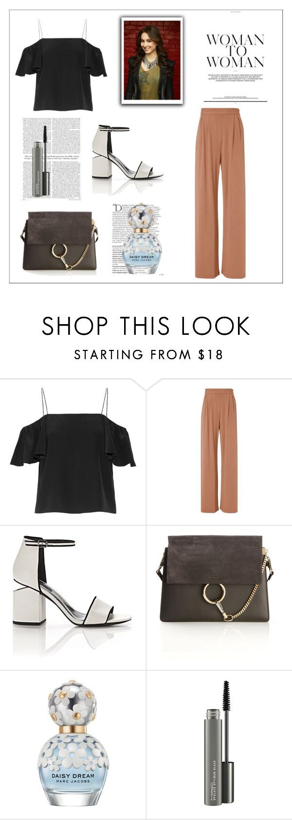 """""""Spencer Hastings"""" by spencer-hastings-5 ❤ liked on Polyvore featuring Fendi, Fleur du Mal, Alexander Wang, Chloé, Balmain, Marc Jacobs and MAC Cosmetics"""