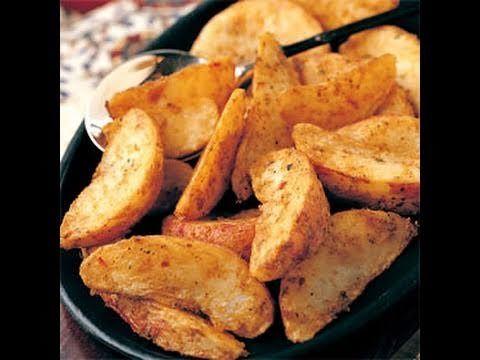 Low Fat Potato Wedges