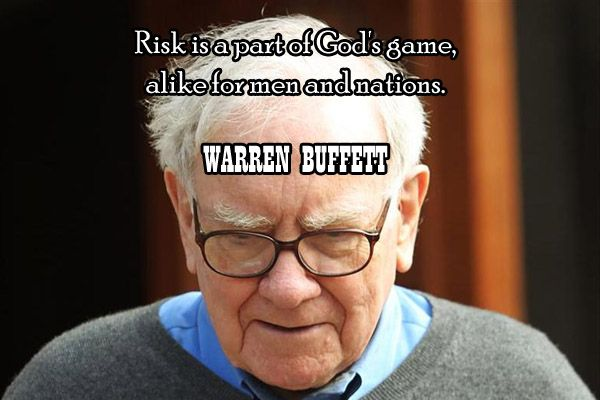 """""""Risk is a part of God's games, alike for men and nations."""""""