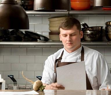Travis Grimes Chef de Cuisine @ Husk