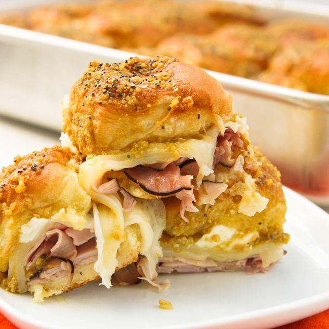 Pip & Ebby - Pip-Ebby - Hawaiian ham and cheese sandwiches (tailgatesandwiches)