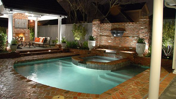 21 best for the home images on pinterest backyard ideas for Pool house with bathroom cost