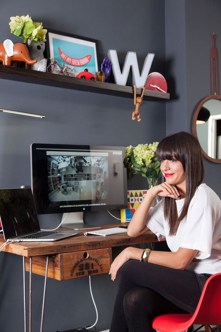 40 Days Of Dating's Jessica Walsh Abode #refinery29