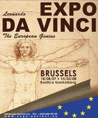 Expo Da Vinci, Bruxelles - Agenda expositions fin 2007, calendrier des expos en France et en Europe - Dans le cadre des festivités du 50e anniversaire du Traité de Rome, la capitale européenne rend honneur à Léonard de Vinci à travers l'exposition la plus importante réalisée à ce jour sur ce génie européen...