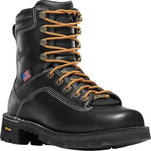 Danner Women S Quarry Usa 7 Alloy Toe Size 7 5 M Black