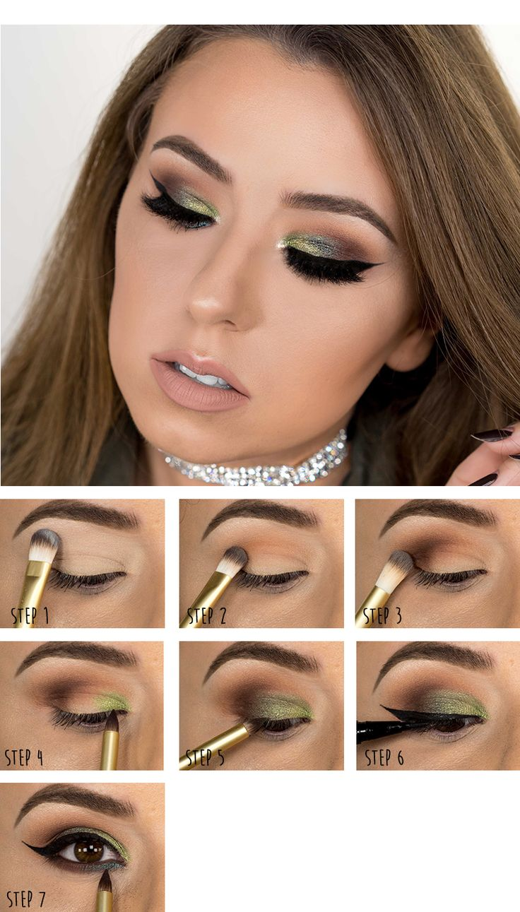 Eye shadow tutorial by @roseandben using the Limited Edition Too Faced Totally Cute Palette! #toofaced #totallycutepalette