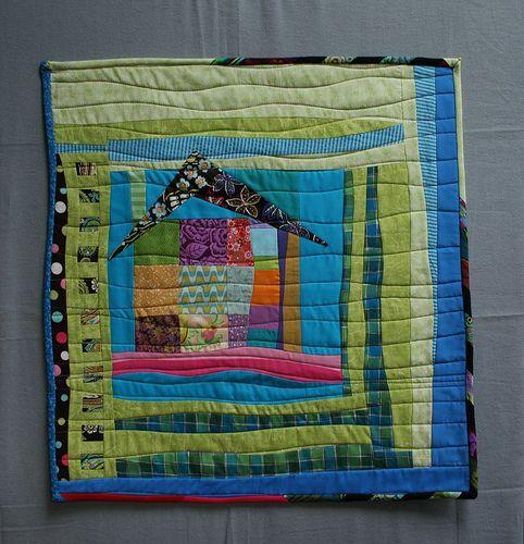 mini quilt house