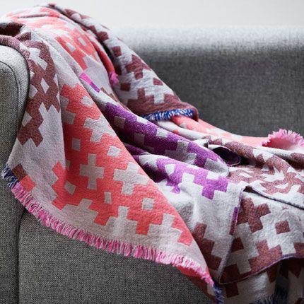 Hay Plus 9 Pledd 145 x 215 cm - Pink