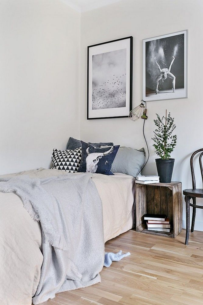 189 best chambre ado jeune adulte images on pinterest colors bedroom and scandinavian apartment for Chambre jeune adulte