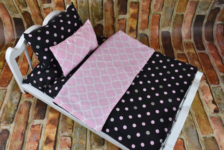 "American Girl Doll Bedding | 18"" Doll Bedding 