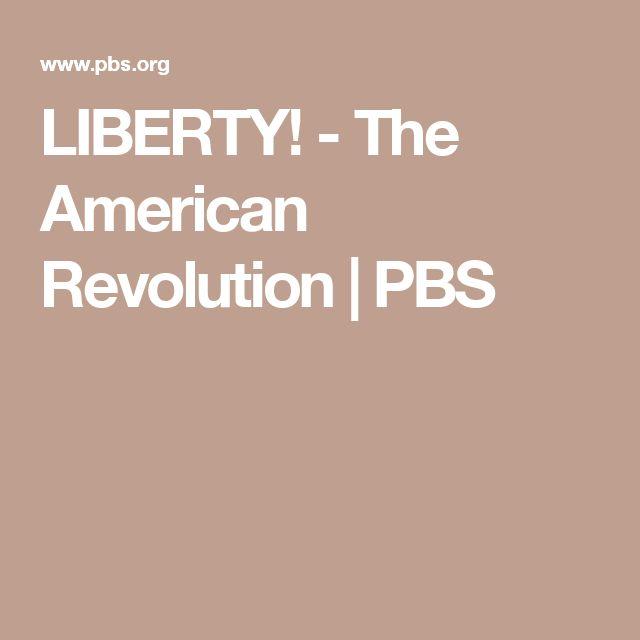 LIBERTY! - The American Revolution | PBS