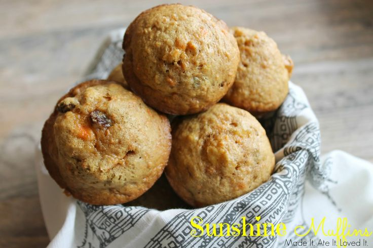 Made It. Ate It. Loved It.: Sunshine Muffins