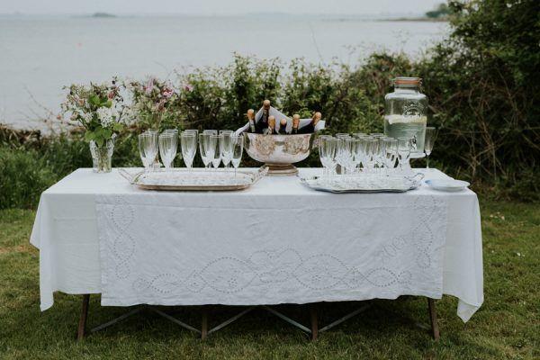 Botanical Danish Island Wedding at the Garden of Badehotel Aero