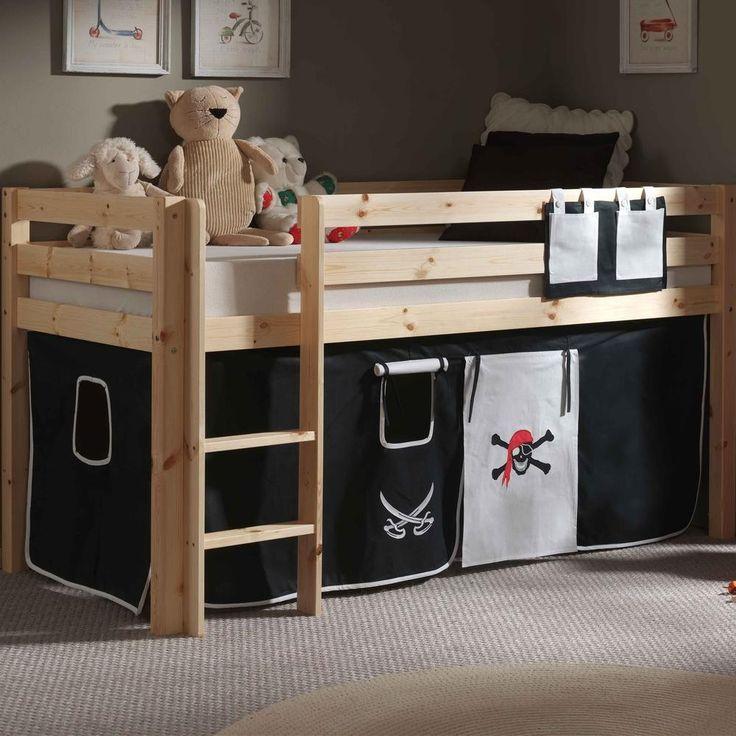 Les 25 meilleures id es de la cat gorie lit mi hauteur sur pinterest chambre coucher peu - Tente pour lit mi hauteur ...