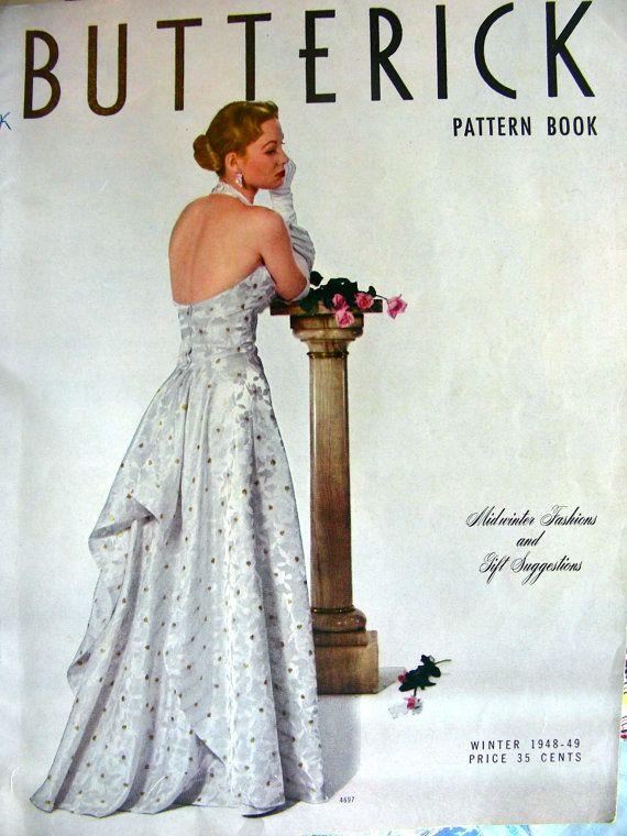 Best 42 Vintage Butterick patterns ideas on Pinterest | Retro ...