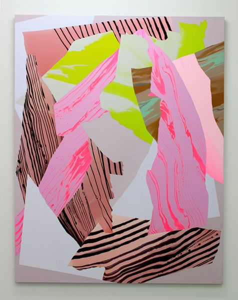 Noël Skrzypczak, Mountain Painting #8, 2014 Courtesy the artist and Neon Parc