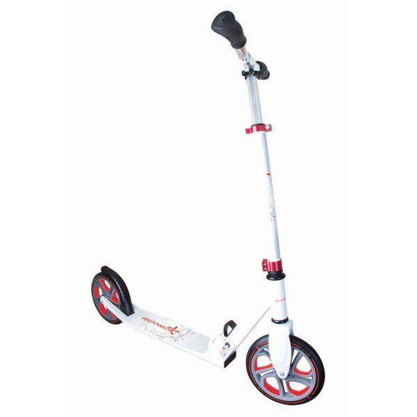 Muuwmi Pro Aluminium Scooter 215 weiß rot