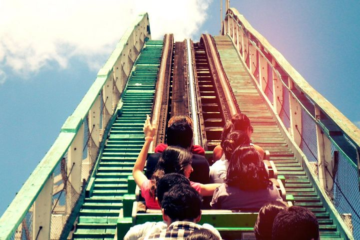 Roller coasters! AHHHH!!!!