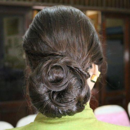 Foto rias rambut & makeup pernikahan oleh Tan Lauren Makeup and Hair