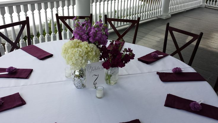 Groupings of single type florals....