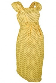 Yellow babydoll maternity dress, www.cravematernity.co.uk for an incredible €18